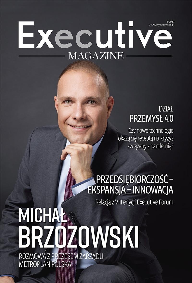 okladka magazynu executive club