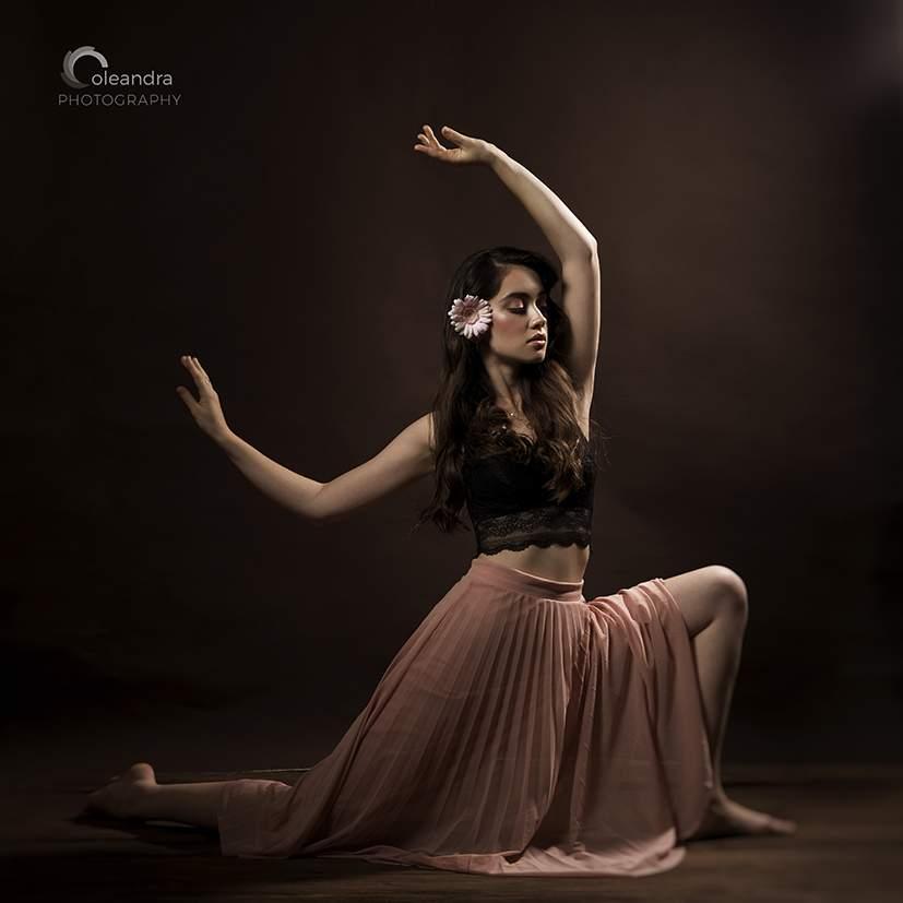 portret tancerki