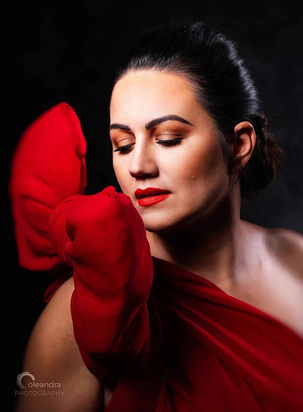 portret kobiecy glamour